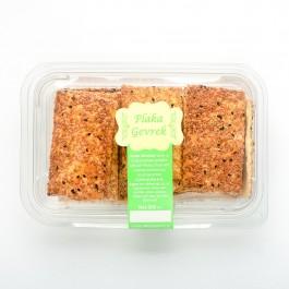 Susamlı Çörek Otlu Plaka Gevrek